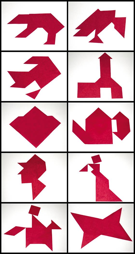 Modèles de tangrams